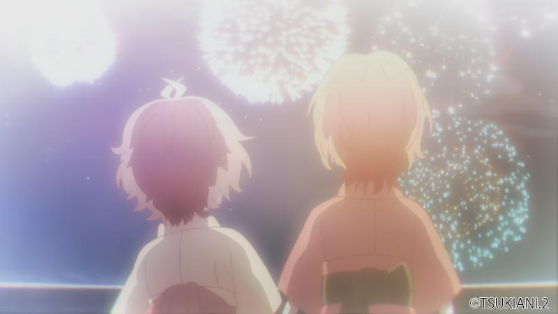 TVアニメ「ツキウタ。THE ANIMATION 2」第10話「背中合わせの夜」先行カット
