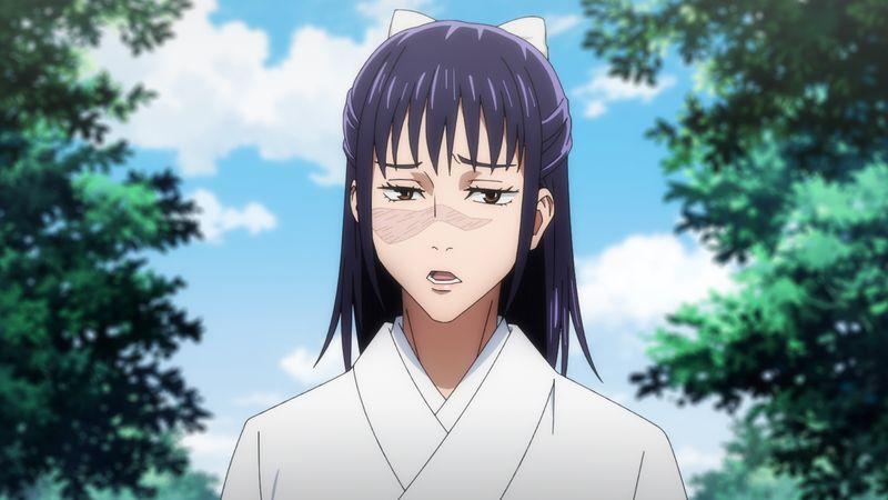 TVアニメ「呪術廻戦」第14話「京都姉妹校交流会-団体戦⓪-」場面カット