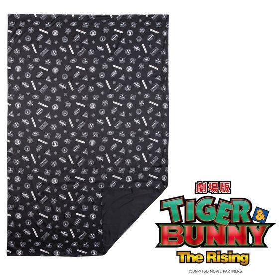劇場版 TIGER & BUNNY -The Rising- サテン掛け布団カバー スタンプ風デザイン