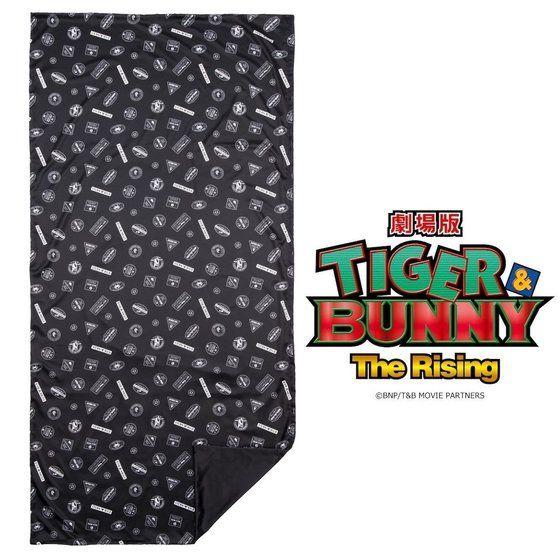 劇場版 TIGER & BUNNY -The Rising- サテン敷布団カバー スタンプ風デザイン