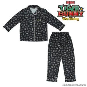劇場版 TIGER & BUNNY -The Rising- サテンパジャマ スタンプ風デザイン