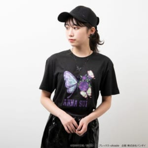 鬼滅の刃×ANNA SUI ネックレス 胡蝶姉妹