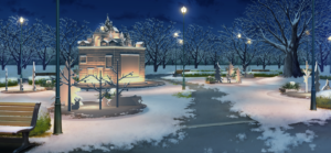 アプリ内イベント「SHUFFLE×白雪たちの MerryXmas」クリスマスオブジェ