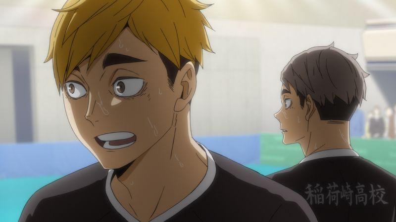 TVアニメ「ハイキュー!!TO THE TOP」23話「静かなる王の誕生」先行カット宮兄弟