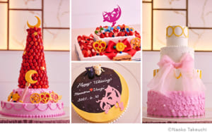 美少女戦士セーラームーン ウエディングケーキ