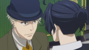 TVアニメ「憂国のモリアーティ」第10話「二人の探偵 第一幕」