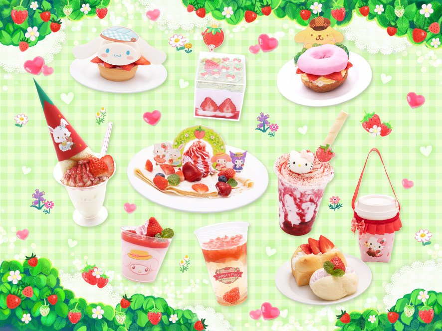 「Sweets Puro」Sweets Puroフード集合イメージ
