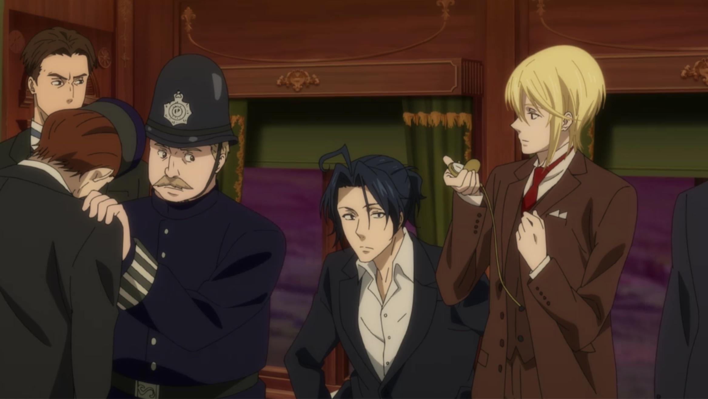 TVアニメ「憂国のモリアーティ」第11話「二人の探偵 第二幕」