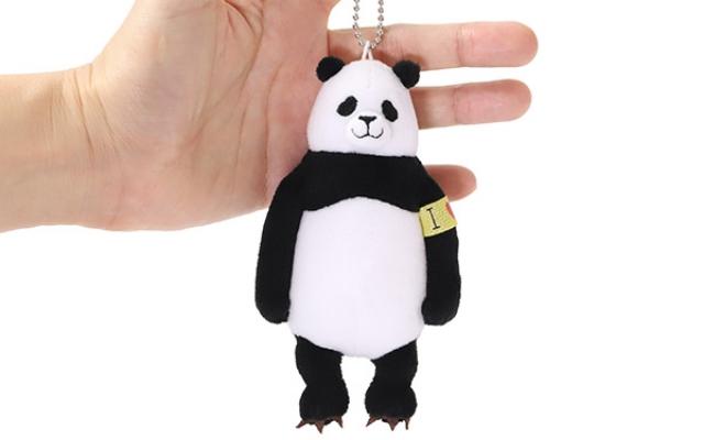 「呪術廻戦」パンダ先輩がぬいぐるみキーホルダーになって登場!程よいサイズ感でいつでもどこでも一緒♪