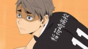 TVアニメ「ハイキュー!!TO THE TOP」23話「静かなる王の誕生」先行カット宮治