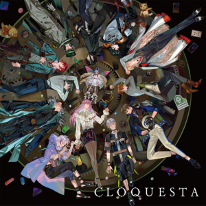 「Clock over ORQUESTA」ファーストアルバムジャケット