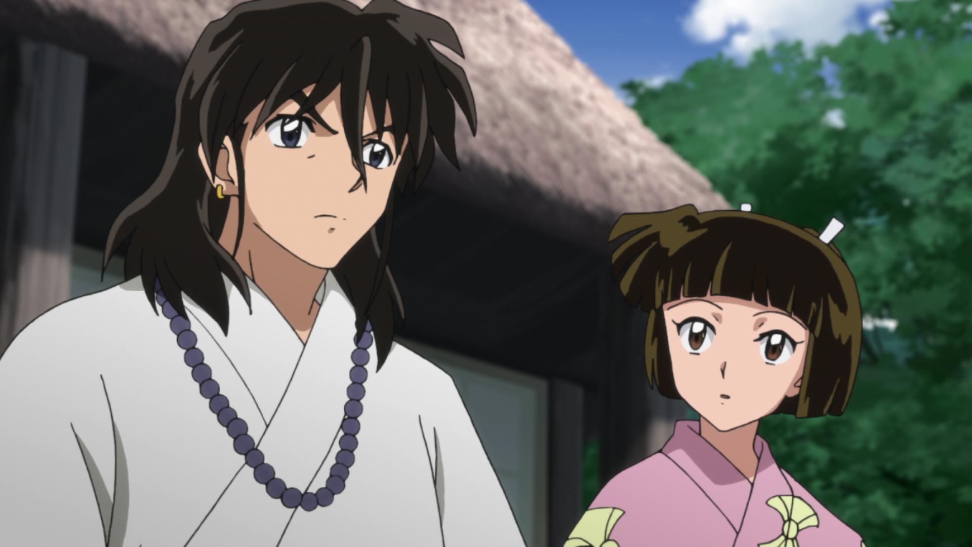 TVアニメ「半妖の夜叉姫」第13話あらすじ&先行カット到着!あの法師様が登場!?殺生丸の双子の娘・せつなには異変が…