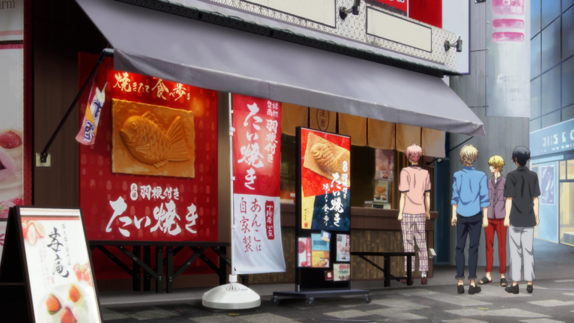 TVアニメ「ツキアニ。2」第12話にておつな寿司・たいやき神田達磨・ホテルグランドパレスとコラボレーション!