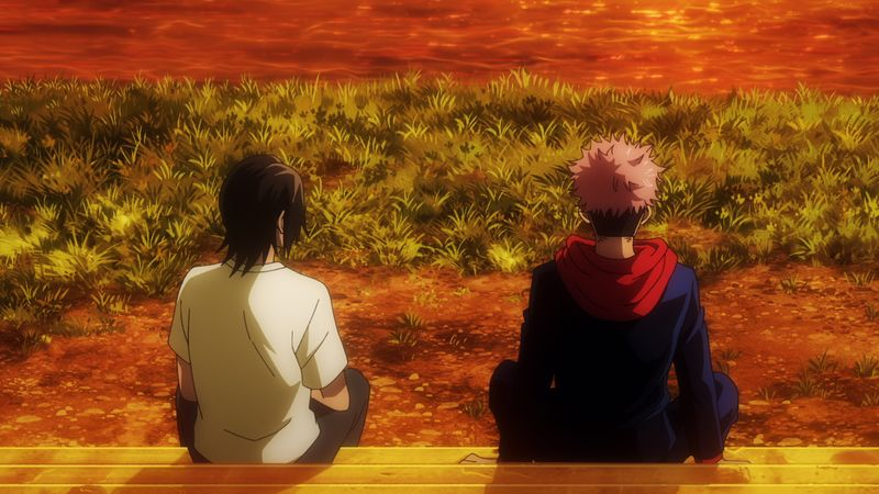 TVアニメ「呪術廻戦」第11話感想 仲良くなる悠仁と順平、束の間の穏やかな時間…唐突に突きつけられる絶望