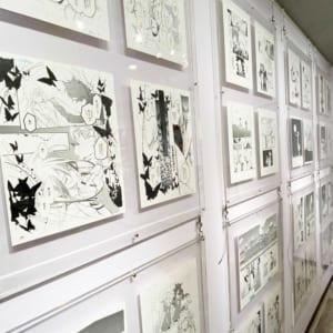 漫画家・高河ゆん先生の個展「夜明けの森で会いましょう」