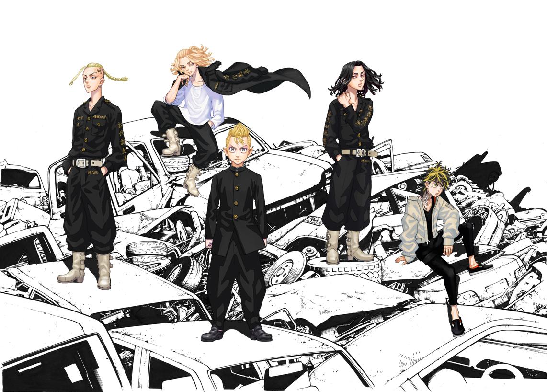 TVアニメ「東京リベンジャーズ」新祐樹さん・鈴木達央さんらメインキャスト5名&キャラ設定解禁!キャラボイスも聞けるPVも公開