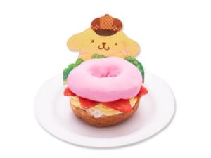 「Sweets Puro」プリンのクロワッサンドーナツいちごサンド(650円)