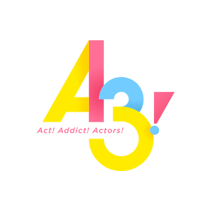 「A3!」ロゴ
