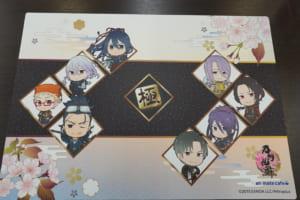 「刀剣乱舞-ONLINE-」×アニメイトカフェ テーブル