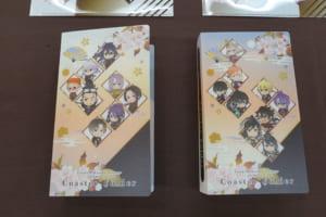 「刀剣乱舞-ONLINE-」×アニメイトカフェ グッズ 「コースターフォルダー 極 ver. A/B」各1,000円(税込)全2種