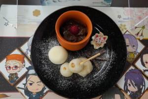 「刀剣乱舞-ONLINE-」×アニメイトカフェ「本丸景趣~冬の庭~」900円(税込)