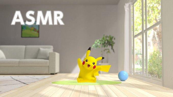 「ポケモン」あなたの部屋で過ごすピカチュウが可愛すぎる!ASMR動画「おへやにピカチュウ」公開