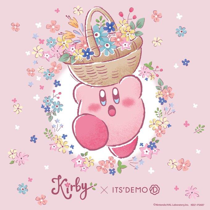 「星のカービィ」×「ITS'DEMO」コラボ詳細解禁!春気分を楽しむお花柄&贈り物にぴったりなギフト柄が展開