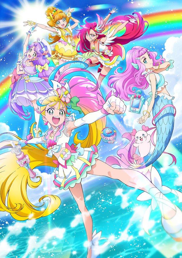 TVアニメ「トロピカル~ジュ!プリキュア」メイン&キャラクタービジュアル公開!主人公・キュアサマーの口癖は「トロピカってる~!」