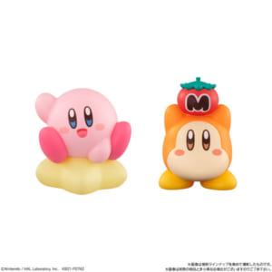 「星のカービィ Kirby Friends」1.カービィ(ワープスター)2.ワドルディ
