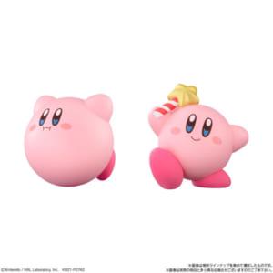 「星のカービィ Kirby Friends」3.カービィ(ほおばり) 4.カービィ(スターロッド)