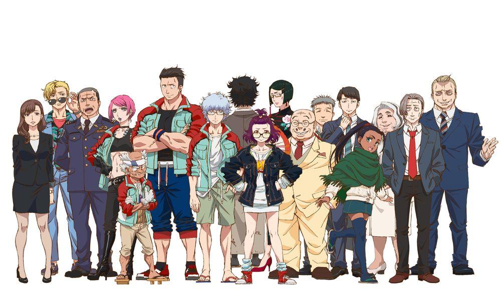 TVアニメ「ゴジラ S.P」鈴村健一さん、置鮎龍太郎さんらが出演決定!キャラ紹介&キャストコメント到着