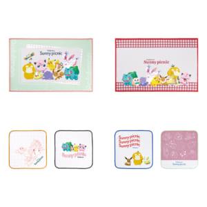 「ポケットモンスター」新作一番くじ「Pokémon anytime ~Sunny picnic~」F賞 ピクニックタオルコレクション