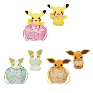 「ポケットモンスター」新作一番くじ「Pokémon anytime ~Sunny picnic~」C賞 一緒にピクニック☆おでかけマスコット