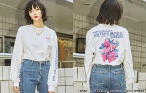 劇場版「美少女戦士セーラームーンEternal」×jouetie ロンT