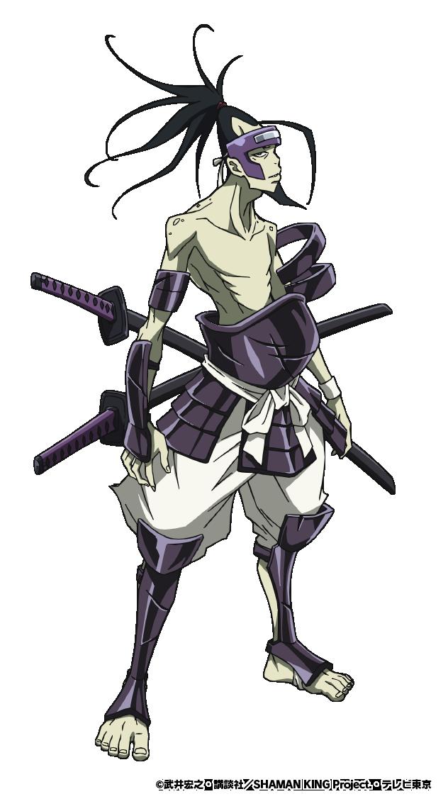 TVアニメ「SHAMAN KING」蜥蜴郎