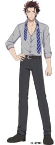 TVアニメ「アイ★チュウ」竜胆椿