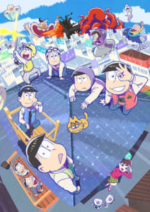TVアニメ第3期「おそ松さん」メインビジュアル