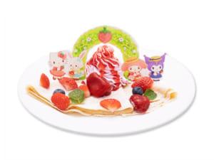 「Sweets Puro」贅沢!ベリーベリーストロベリークレープ(850円)