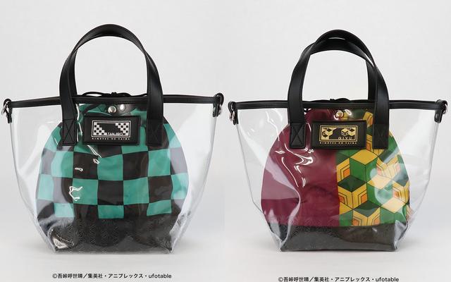 「鬼滅の刃」羽織をイメージした巾着付きクリアバッグが発売決定!炭治郎・善逸・伊之助・義勇の全4種