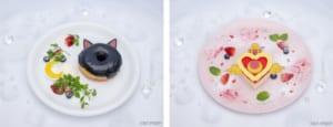 「セーラームーンカフェ-Eternal-」ルナの黒ゴマペーストドーナツ/ムーン・クライシス・ミルクレープ!!