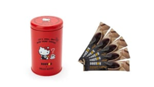 「DOUTOR×ハローキティ」キャニスター缶&コーヒー