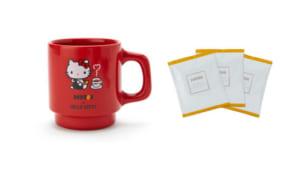「DOUTOR×ハローキティ」マグカップ&コーヒー