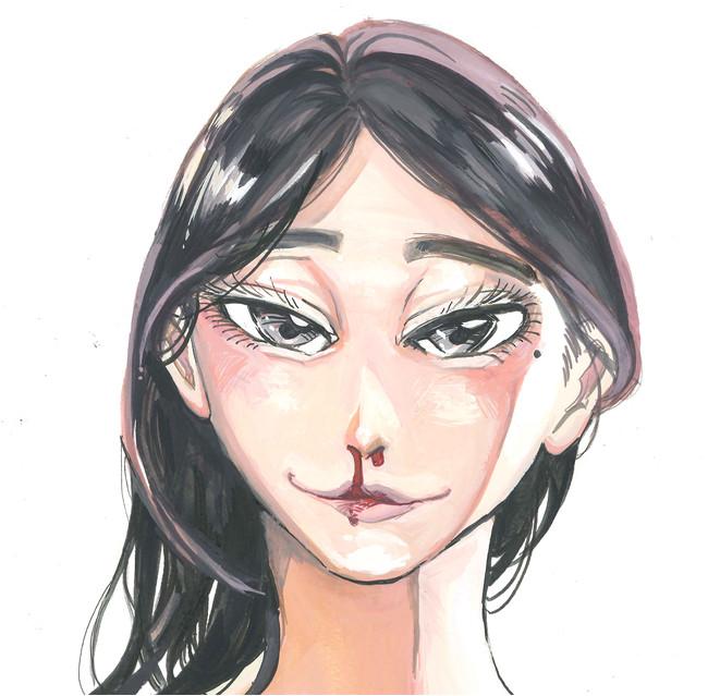 「BEASTARS」原作者・板垣巴留先生初の本格人間漫画「ボタボタ」短期連載開始!予測不能&奇想天外なガールズライフを描く