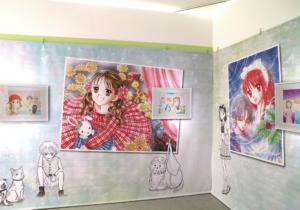 特別展「りぼん 250万りぼんっ子♡大増刊号」小花美穂先生 原画コーナー