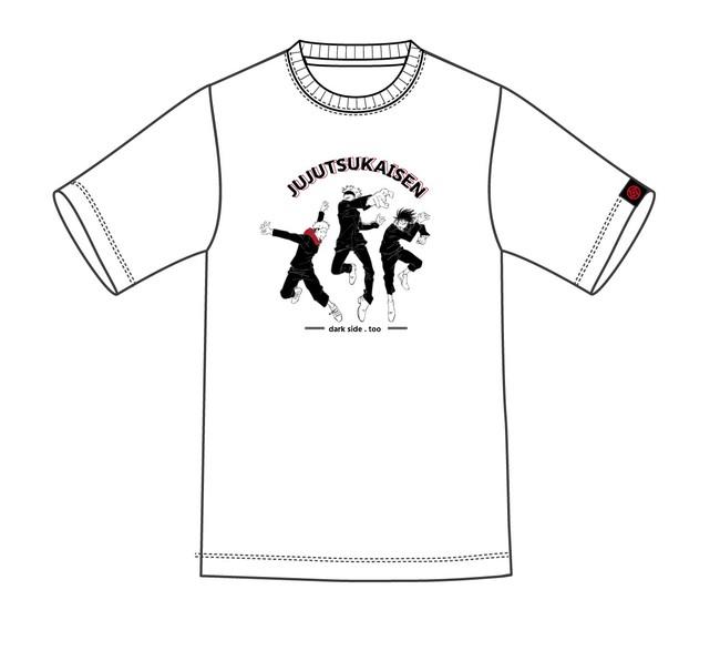 「呪術廻戦」3キャラTシャツ