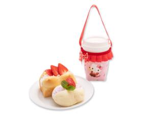 「Sweets Puro」いちごのモーニングブレッドセット_カップバッグ付き(1,500円)