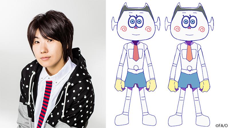 TVアニメ「おそ松さん」第3期第2クールのEDテーマは双子AIロボットのオムスビ(CV.山本和臣さん)がメインボーカル!