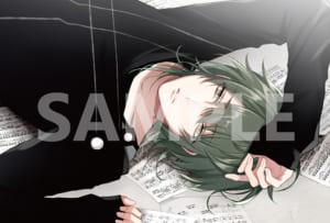 TVアニメ「ツキウタ。 THE ANIMATION2 第1巻」封入特典エンドカード柄ポストカード(涙)