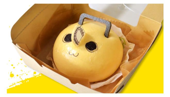 「チェンソーマン」×「アニメイトカフェ」ポチタまん