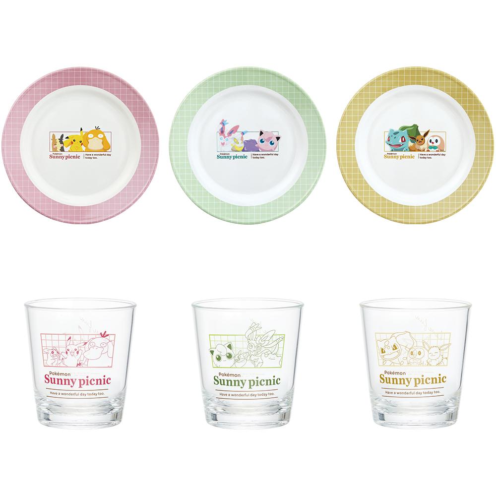 「ポケットモンスター」新作一番くじ「Pokémon anytime ~Sunny picnic~」E賞 テーブルウェア